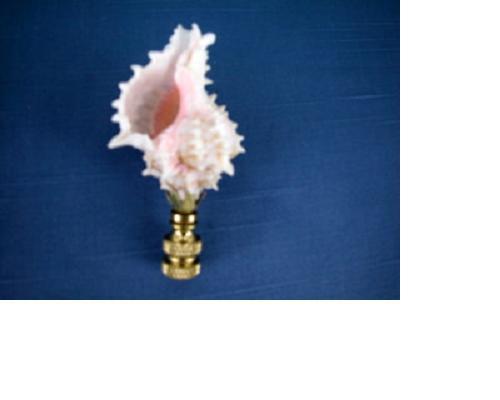 Pink Murex Finial Small