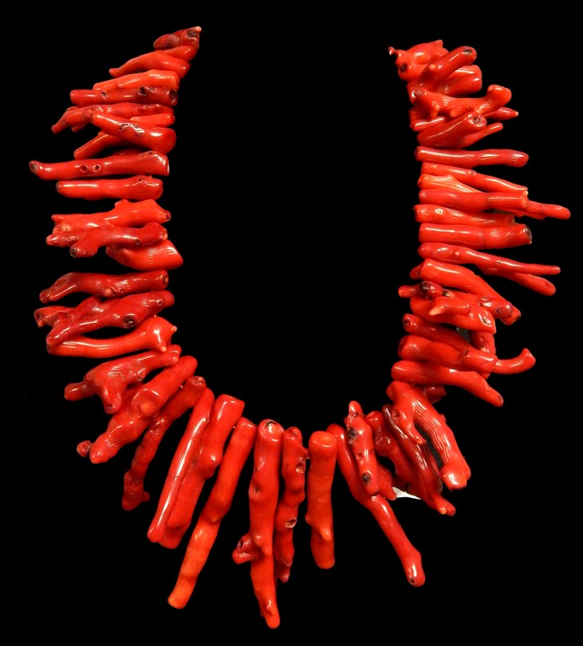 Red coral necklaces mozeypictures Image collections