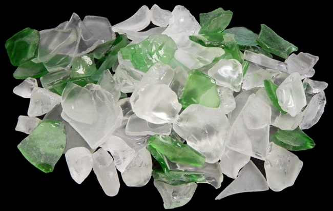 Lite Green Color Seaglass
