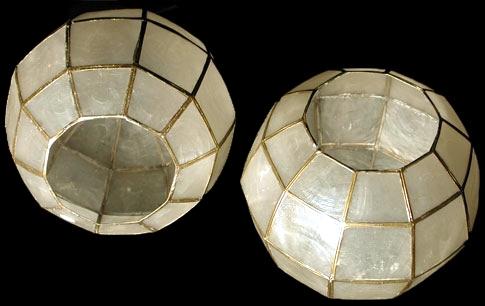 Capiz Candle Globe