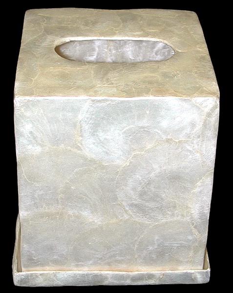 Capiz Tissue Box S1-90  8/4/13