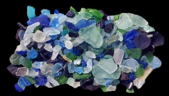 Mixed Lite Sea Glass 1/21/13