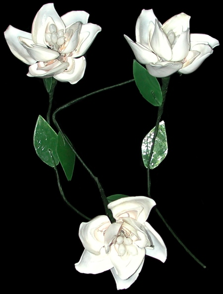 Wedding White Flower Stem  WW1-28