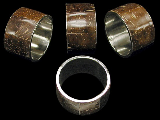 Cocoa Napkin Ring
