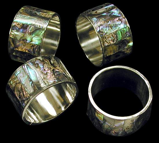 Paua Napkin Rings