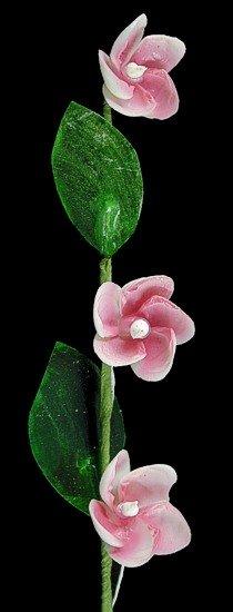 Red Petals Flower Stem  Q1-32