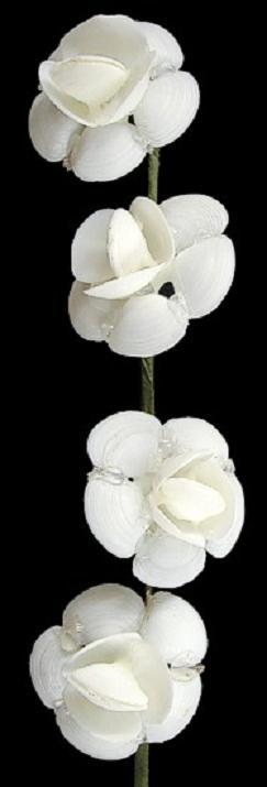 White Cay Cay Flower Stem 10  O1-32